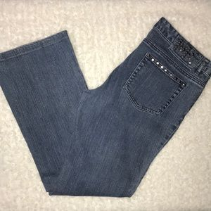 Michael Kors studded jeans boot cut 10